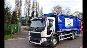 Trade Waste Truck In Leicester - YouTube