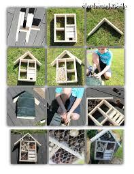 petites betes dans la maison idée créative faire soi même une maison pour les insectes