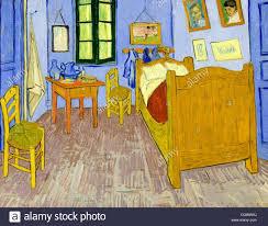 schlafzimmer in arles vincent gogh 1889