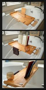 Teak Bath Caddy Australia by Best 20 Bathtub Caddy Ideas On Pinterest Bathtub Wine Glass