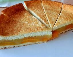 aprikosenkuchen mit schmand guss mit eigenen händen