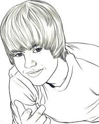 Inspirational Justin Bieber Coloring Pages 11 In Free Colouring With