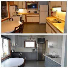 Full Size Of Kitchen Redesign Ideaspainted Cabinets Before And After Painting 1960s