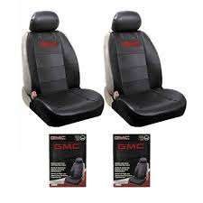 100 Elite Truck Seats New GMC Synthetic Leather Car Suv 2 Front Sideless Seat