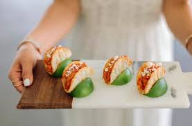 Unique Tasty Wedding Food Ideas Your Guests Will Love Sushi Churros And More