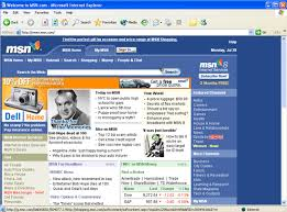 Image Msn website Logopedia