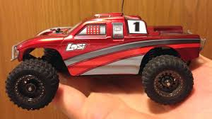 Team Losi 1/36 Scale Micro Desert Truck Old Lipo Vs New Lipo Wheelie ...