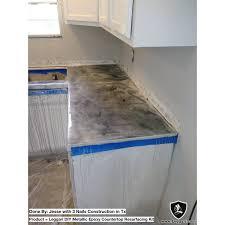 Diy Concrete Over Laminate Countertops