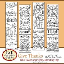 Bible Bookmarks Journaling Tabs To Color In