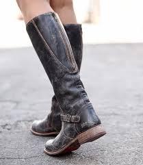 glaye black lux stylish womens riding wide calf boot bed stu