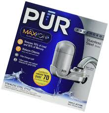 Pur Advanced Faucet Water Filter Adapter by Euc Pur Maxion Advanced Stainless Steel Style Faucet Water Filter