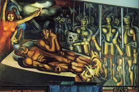 the torment of cuauhtemoc 1950 by david alfaro siqueiros 1896