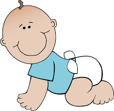 Baby Boy Clipart Black And White – 101 Clip Art