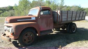 100 1951 Ford Truck For Sale F6 Flatbed Truck Item H2414 SOLD October 22 A