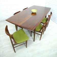 Retro Dining Table And Chair Vintage Teak Mid Century Danish Style Era