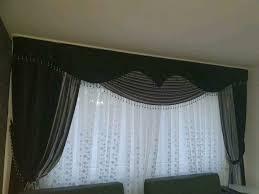 vorhänge für wohnzimmer schwarze farbe