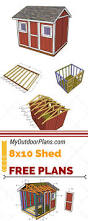 Shed Plans 8x12 Materials by Best 25 8x10 Shed Ideas On Pinterest Shed Plans 10x12 Shed And