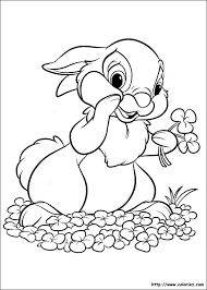 Disney Thumper From Bambi Coloring Picture