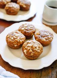 Eggless Pumpkin Muffins by Healthy Pumpkin Muffins Recipe Cookie And Kate
