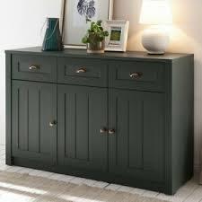 details zu landhaus wohnzimmermöbel anrichte sideboard grün esszimmerschrank kommode möbel