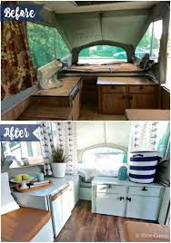 Pop Up Camper Makeover Ideas On A Budget 4