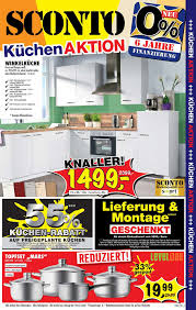 sconto sb küchenaktion 26 09 2017 16 10 2017