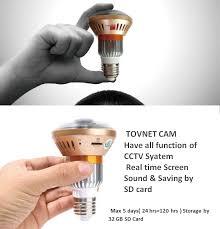 new tovnet smart lot led bulb cctv easy simple install diy