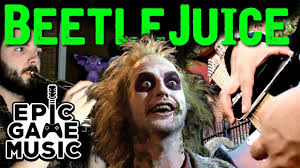 Danny Elfman This Is Halloween Remix by Beetlejuice Theme Ft Ryan Lafford Guitar And Brass Remix