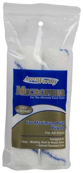 Arroworthy 6.5-Mfr3T-P 6.5 x 0.38 in. Microfiber - Mini Roller Cover 2