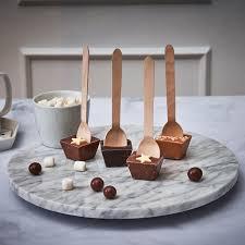ganz schnell zur heißen schokolade schokolöffel winter