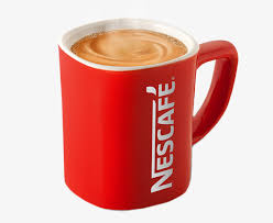 Red Coffee Cup Clipart Square Nestle PNG Image