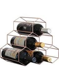 eisen 6 flaschen weinregal für küchen wohnzimmer lagerung
