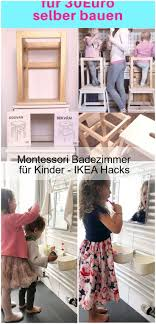 montessori badezimmer für kinder ikea hacks badezimmer