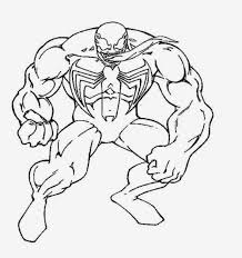 Spider Man And Venom Coloring Pages