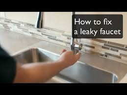 Fix Dripping Faucet Kitchen by How To Fix A Leaky Faucet Single Handle Faucet By Kohler By
