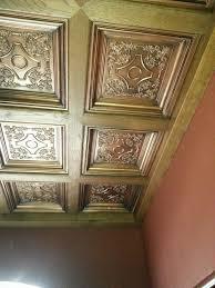 Decorative Ceiling Tiles 24x24 by 32 Best Faux Copper Ceiling Tiles Images On Pinterest Copper