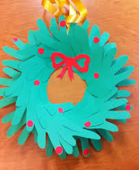 Easy Construction Paper Crafts For Christmas
