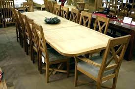 Round Dining Tables For 12 Contemporary Design Extra Long Table Seats Room Large 14