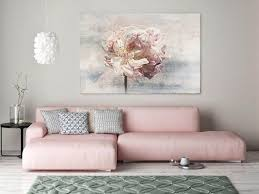 Floral Painting Pink Abstract Art Colorful Contemporary Canvas Print Up To 72 By Irena Orlov