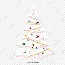 Vector White Christmas Christmas Vector Christmas Tree Vector PNG
