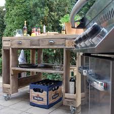 outdoor kuche aus europaletten caseconrad