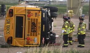 Truck Driver Falls Asleep, Hits School Bus In Colorado; Multiple ...