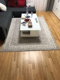 wohnzimmer teppich anthrazit kaufen auf ricardo