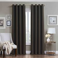 Eclipse Blackout Curtains 95 Inch by Amazon Com Eclipse 12968052095chr Wyndham 52 Inch By 95 Inch