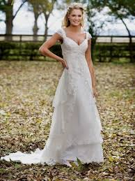 Dresses Country Wedding With Lace