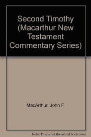 9781881207573 Second Timothy Macarthur New Testament Commentary Series