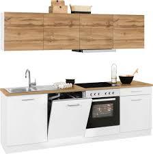 held möbel küchenzeile kehl mit e geräten breite 240 cm kaufen otto