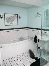 Bathroom Floor Tile Ideas Retro by Tiles Vintage Bathroom Ceramic Tile Vintage Black And White