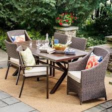 Threshold Patio Furniture Covers by Belvedere Wicker Patio Furniture Collection Threshold Target