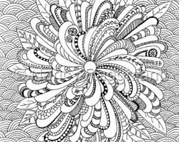 Peaceful Ideas Printable Complex Coloring Pages Colouring